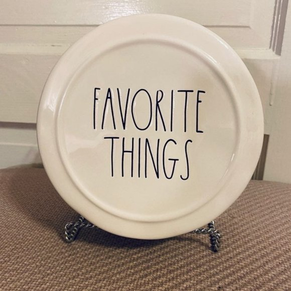 rae dunn Other - RAE DUNN Favorite Things Trinket Box